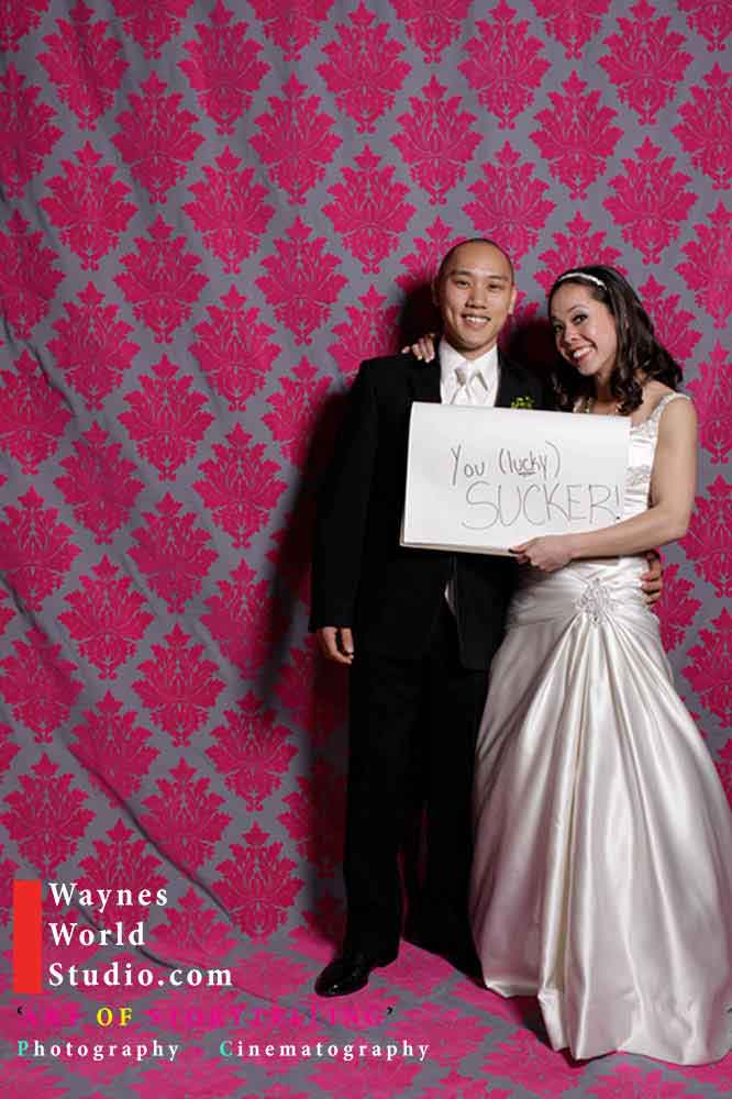 Ideas without hire a wedding photobooth