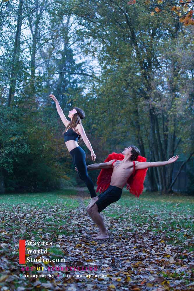 Blush Wedding Creative Pictures Yoga Exercise Body Art Vancouver