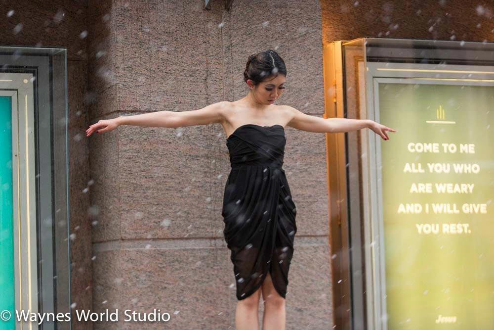 Blush Wedding Hilton Hotel Photos With Fashion Shoot During