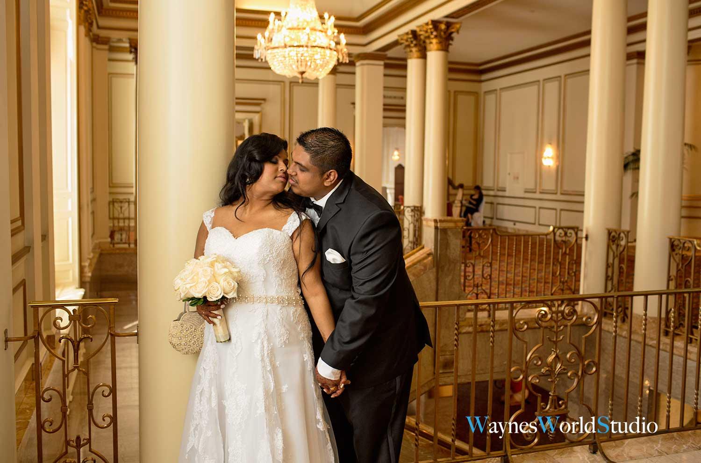 Vancouver Fairmont Hotel wedding