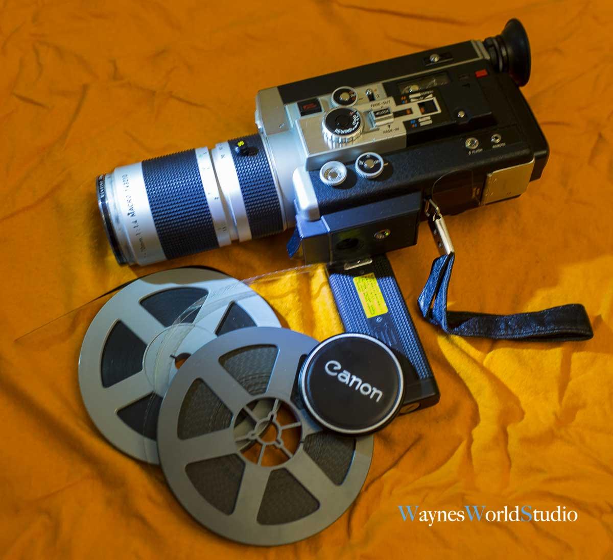 Canon-super8mm-film-camera