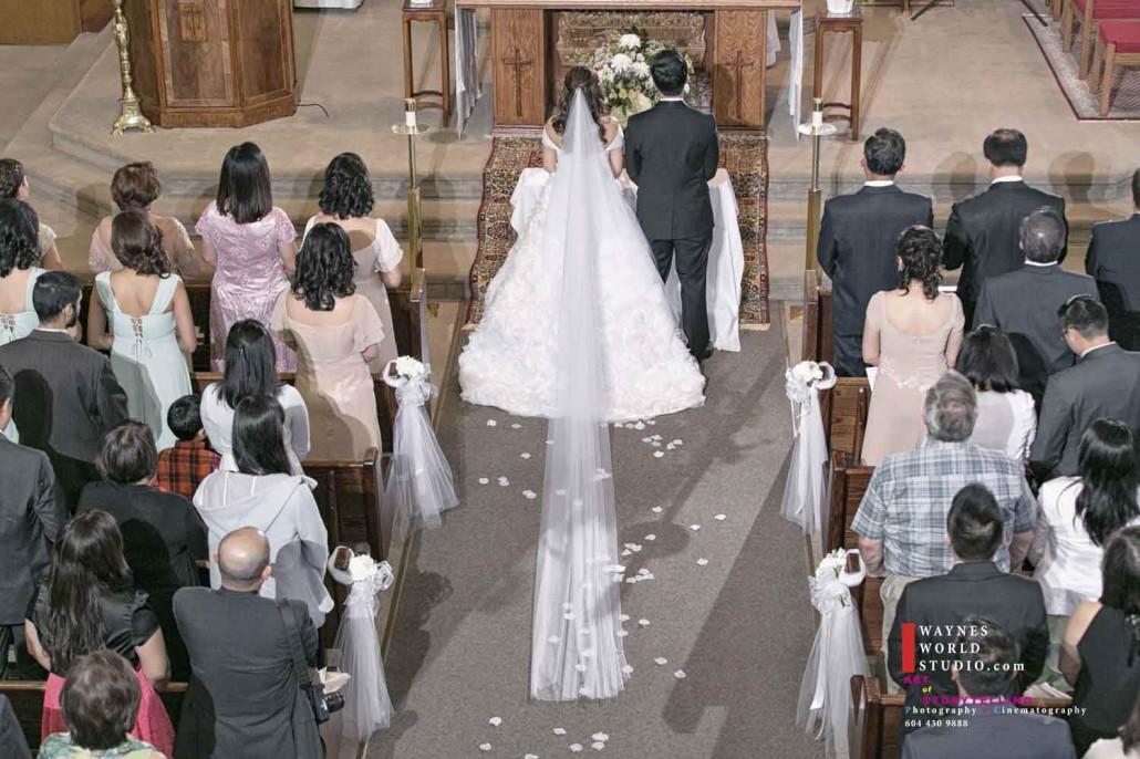 Port Moody church wedding