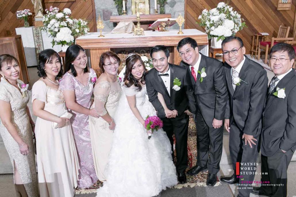 wedding in loving memory portrait