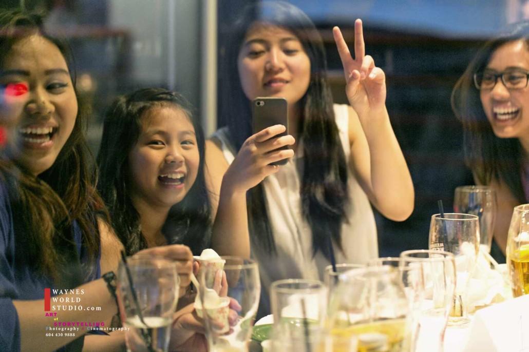 Vancouver Filipino reception party