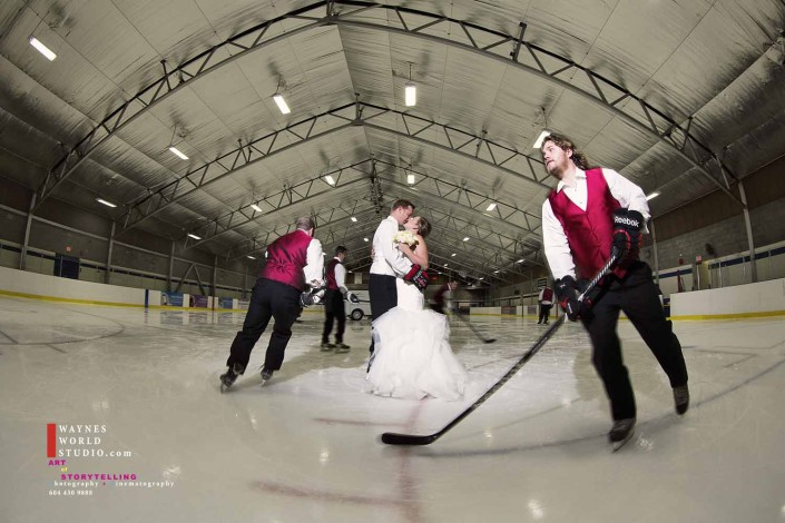 Minoru Ice Arena Wedding