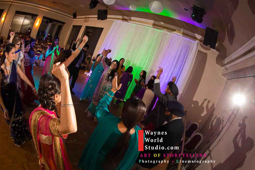 Dance Reception South Asian Wedding