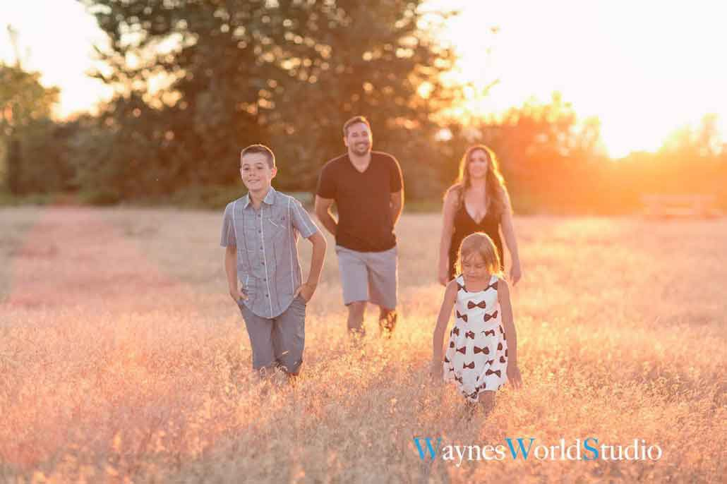 sunset white rock family outdoor photo