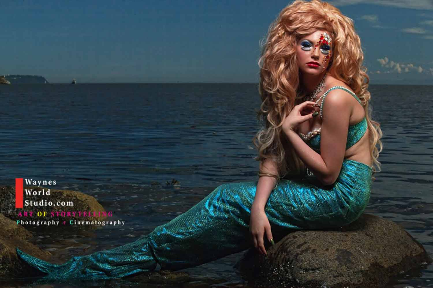 Vancity Fashion mermaid photo