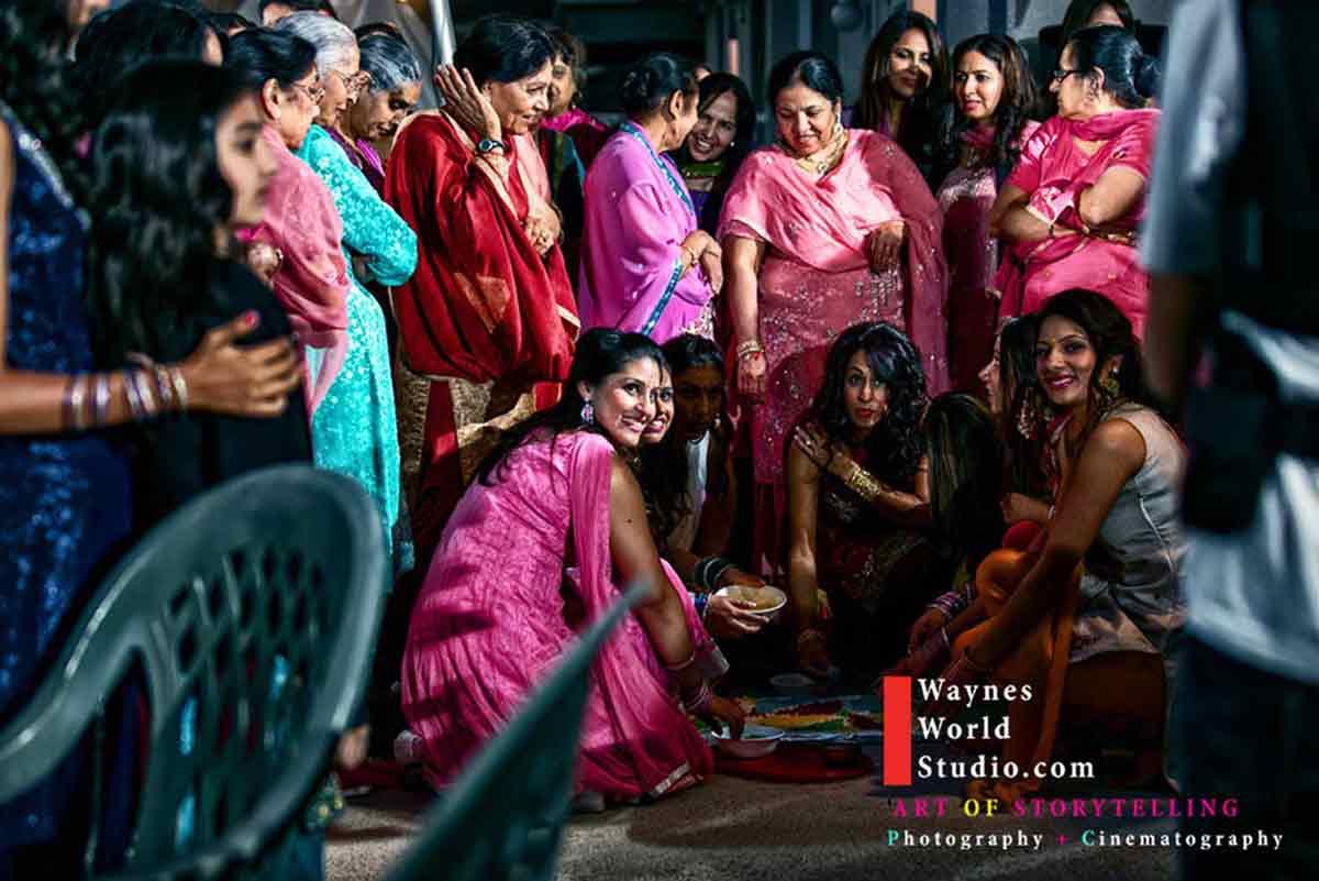 Best indian wedding Vancouver photos Maiya Ceremony Punjabi