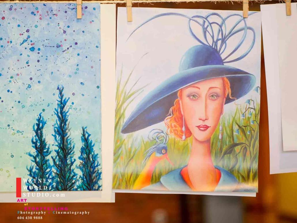 Vancity Fine art donation to strangers