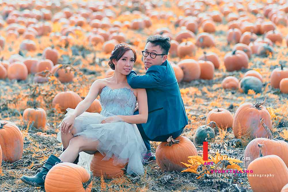 Prewedding Asian couple