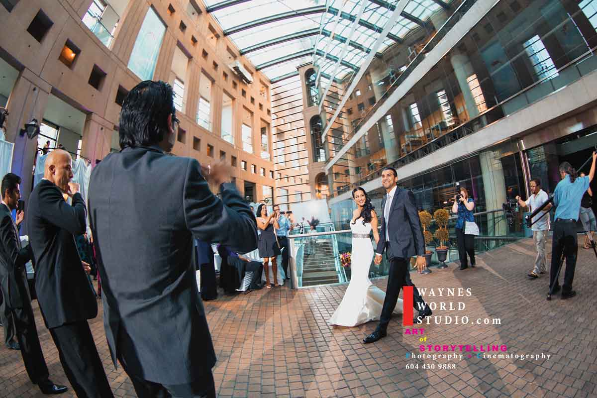 Vancouver BC library wedding
