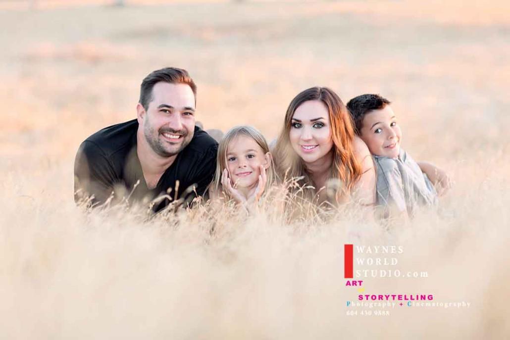 Family Portrait Contemporary