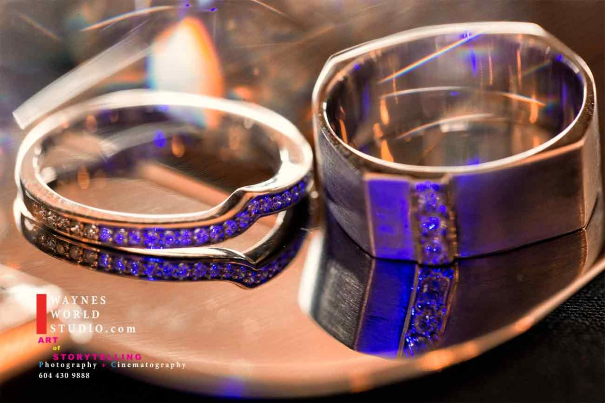 Wedding Rings Bride and Groom