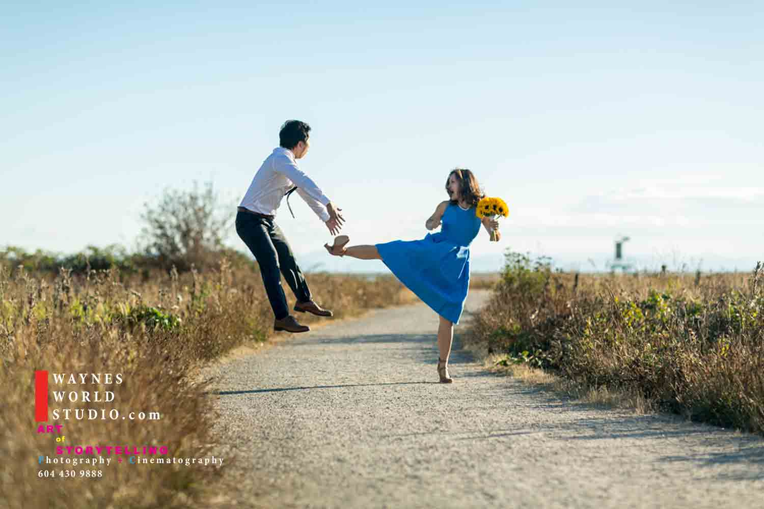 Wedding Stylized Engagement Photo