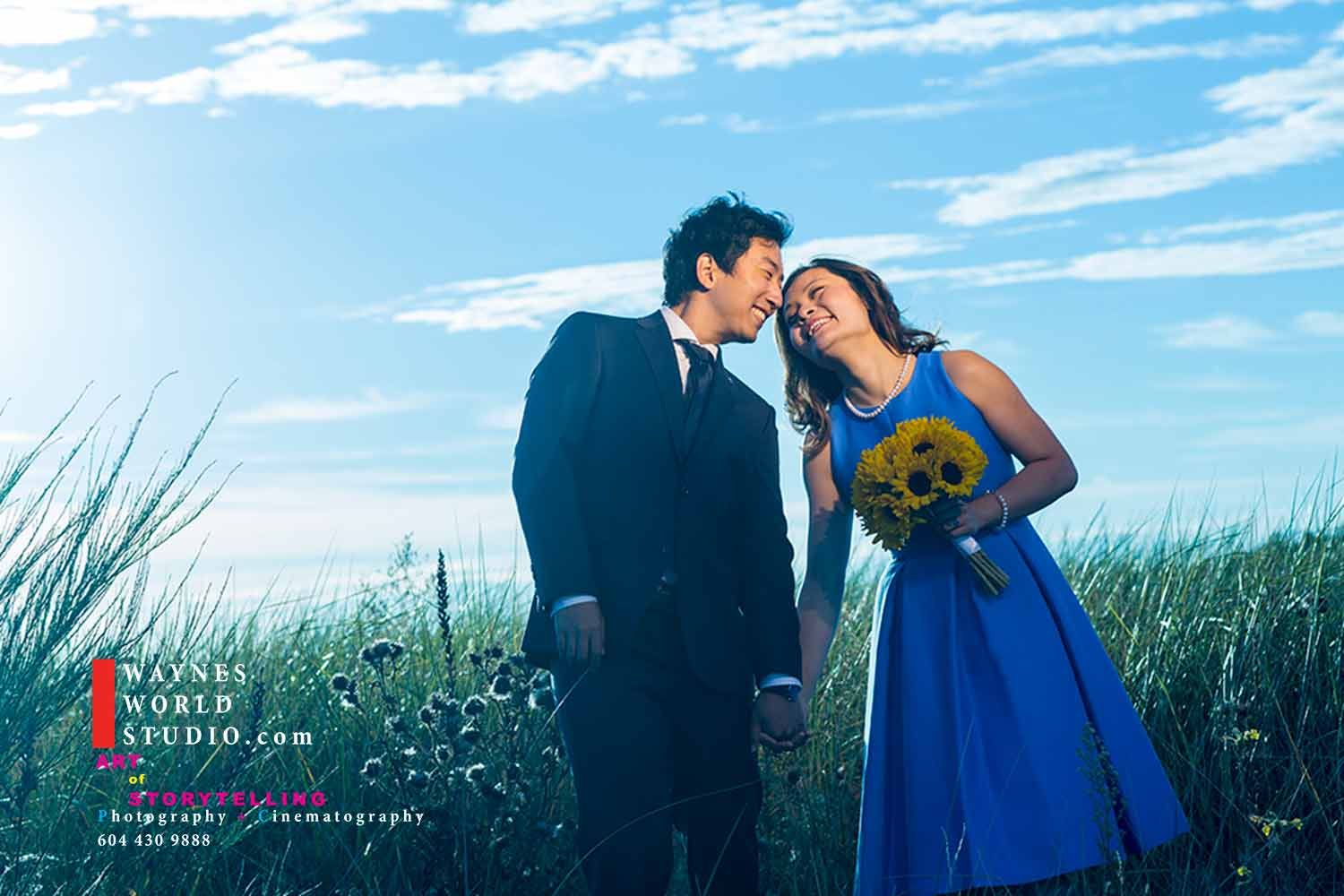 Photo shoot by Vancouver wedding award photographer