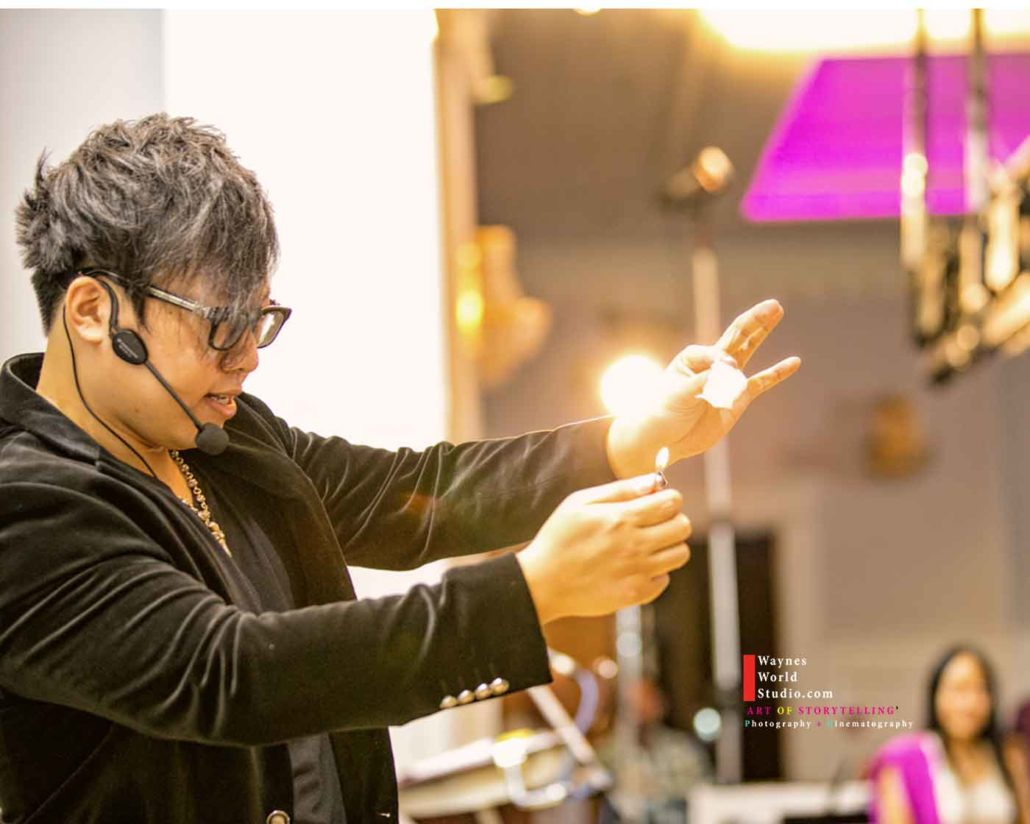 Vancouver Surrey Magician Jason Yu Creating Magic picture by Vancouver Modern wedding Photographers Videographers