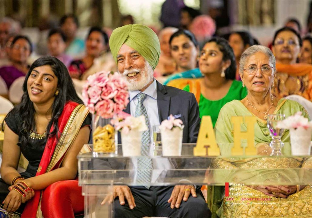Sikh Indian Events anniversary Pictures using off camera flashes for cinematic photos