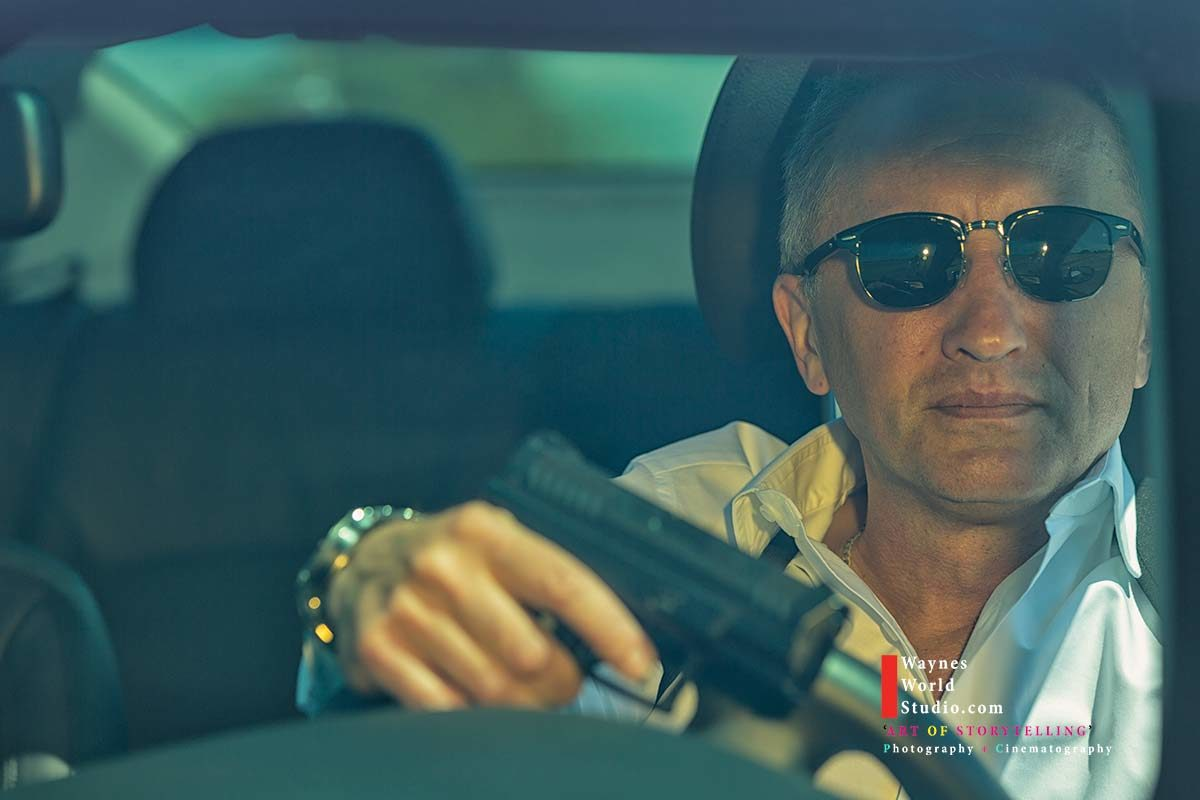 Vancouver Canada Actor Daniel Craig Portrait by Wedding Photographer