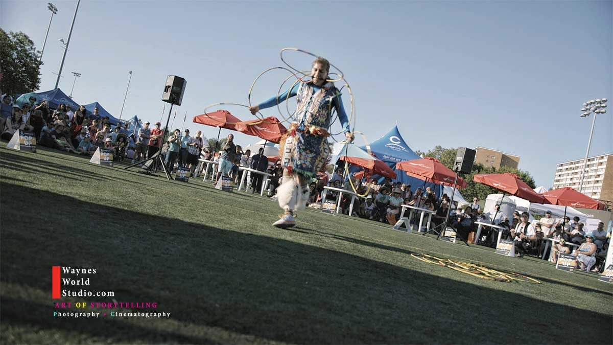 Champion Hoop dancer