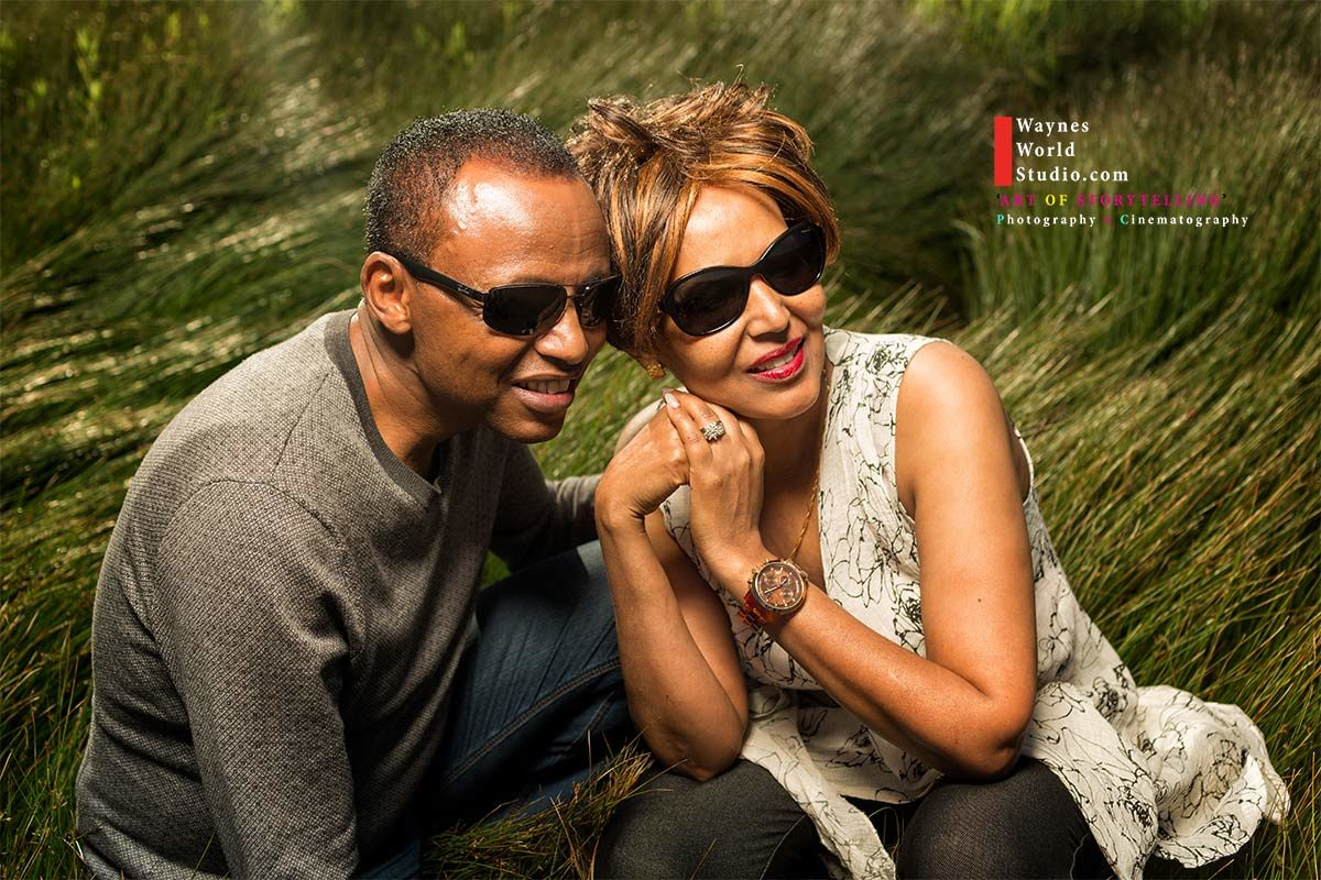 Engagement Ethiopian Couple