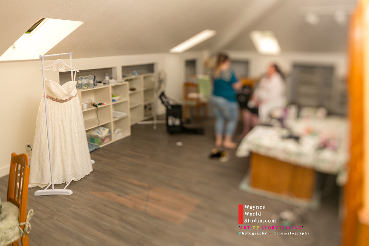Vancouver Miniature Bride Wedding Dress Photo