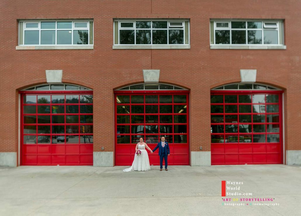 Vancouver Blush Wedding Photo