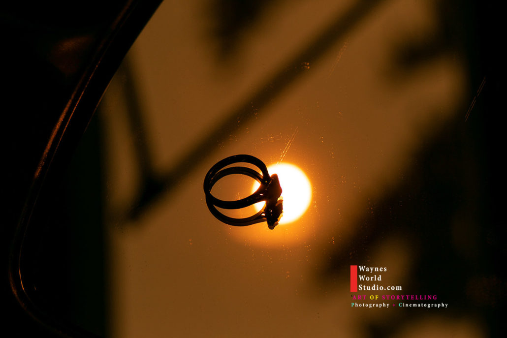 Red Sun Wedding Ring photo